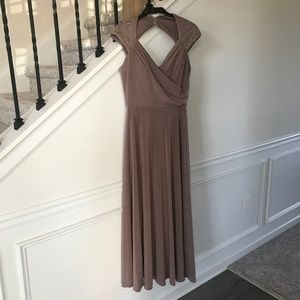 Nordstrom Rack Patra Lavender Gown w/ Shawl